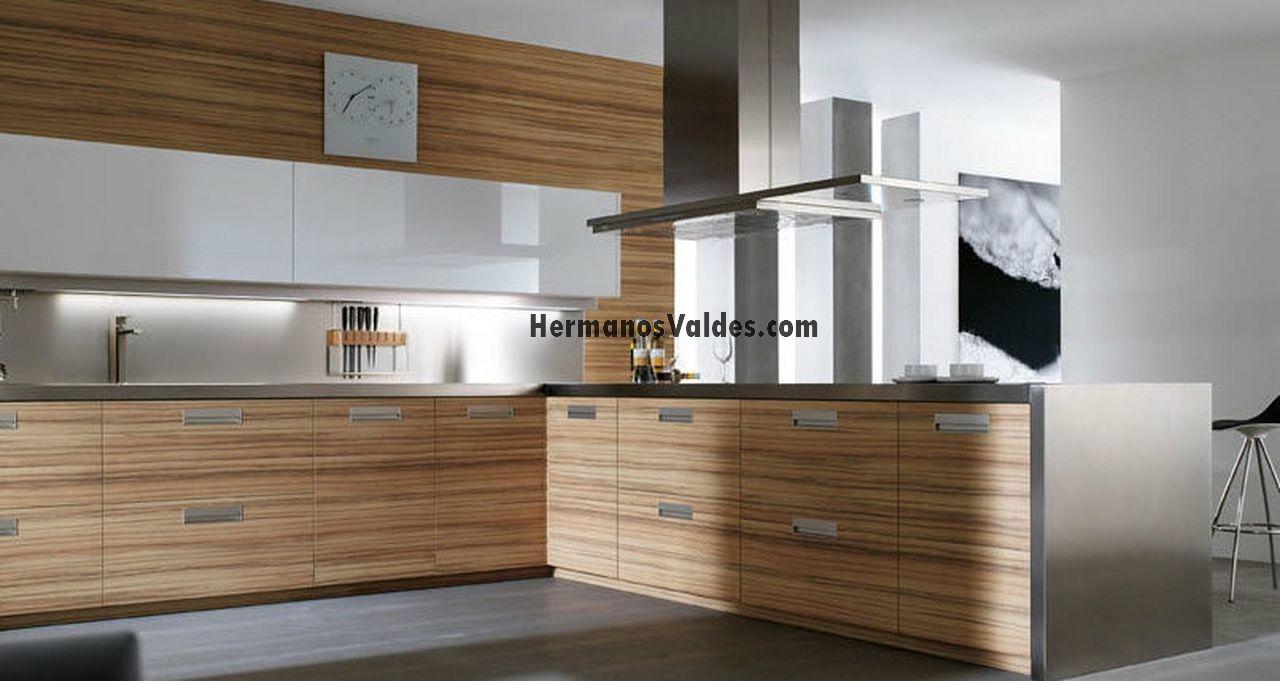 muebles de cocina  cocinas de diseño  ref 2045  HERMANOS VALDES