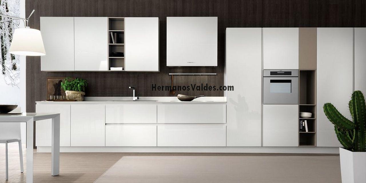 Muebles de Cocina - Cocinas de Diseño - Ref. 2125 - HERMANOS VALDES ...