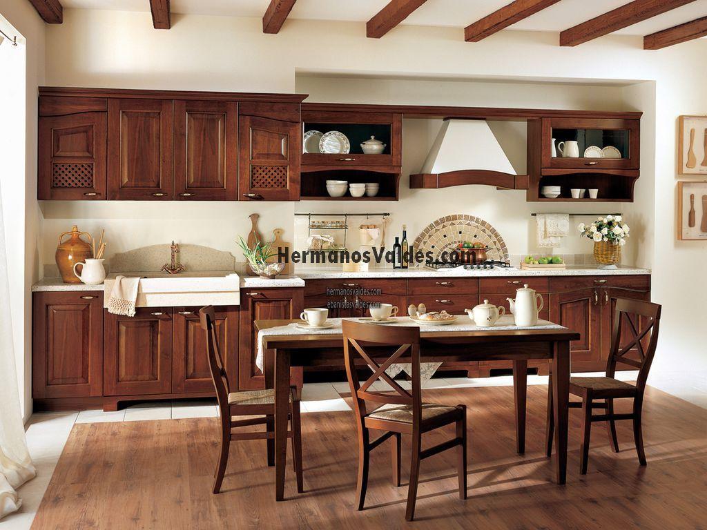Muebles de cocina hermanos vald s armarios y for Pittura per cucina classica
