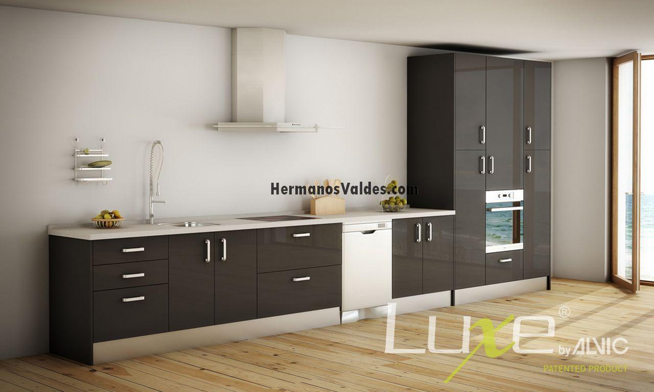 Muebles de cocina hermanos vald s armarios y - Muebles de cocina color blanco ...