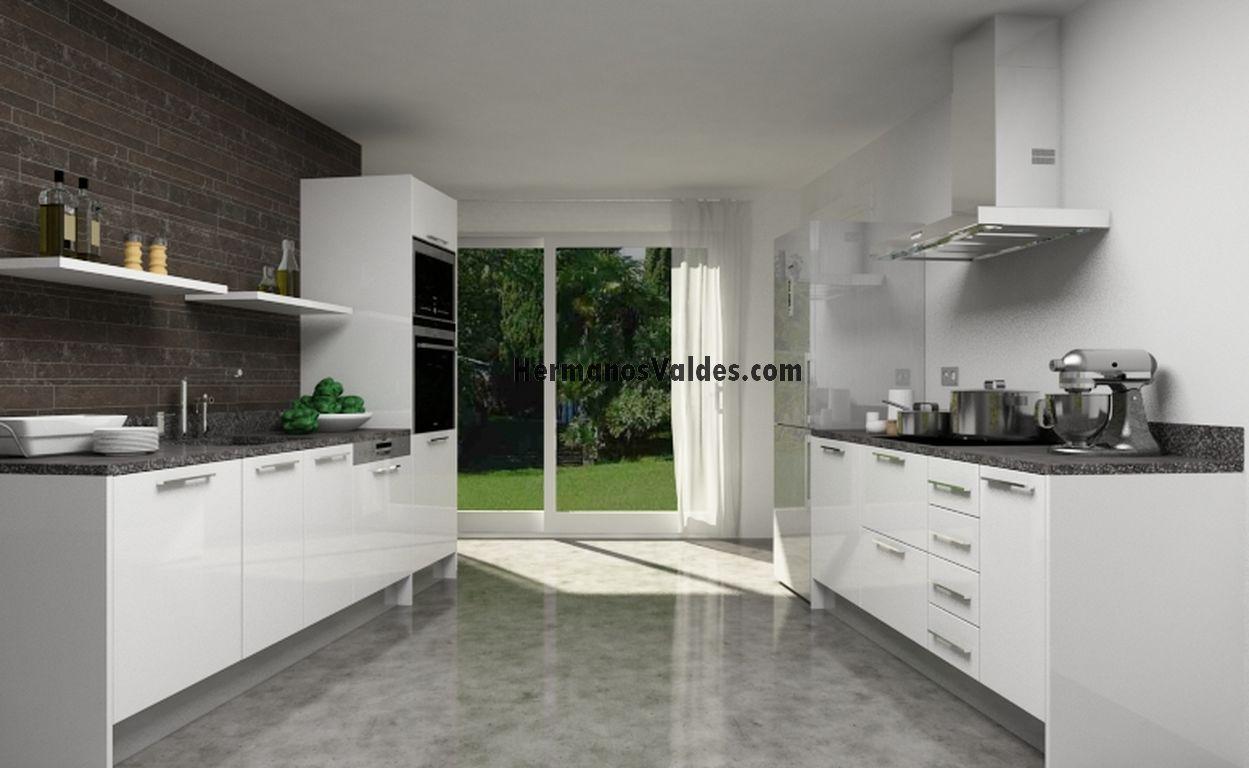 Productos muebles de cocina cocinas en kit ref 4110 hermanos vald s armarios y - Muebles de cocina en kit ...