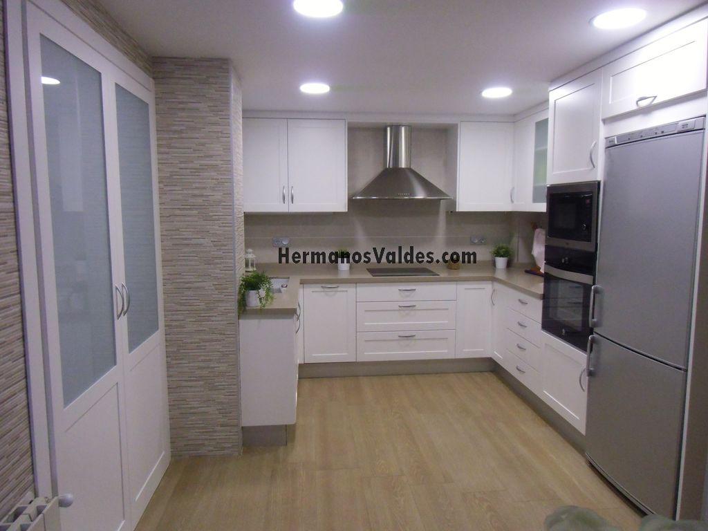 muebles de cocina blancos mate muebles de cocina cocinas de diseo ref